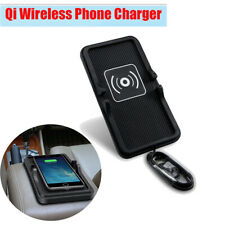 Qi Car Wireless Phone Charger Holder 5V Anti-slip for For Samsung Galaxy iPhone