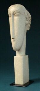 AMADEO MODIGLIANI Skulptur Têtes -M- Parastone Museumsedition MO06 Skulptur