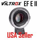Viltrox EF-E II Auto focus Booster Adapter Canon EF Lens to Sony NEX E A7 A9 A7R