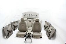 Audi a4 8k de piel cuero equipamiento equipamiento interior escaños beige Leather seat