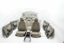 Audi A4 8K Lederausstattung Leder Innenausstattung Sitze Beige Leather Seat