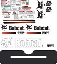 Bobcat T650 Decal Kit. The most complete aftermarket kit available