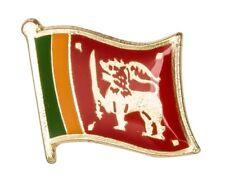 SRI LANKA Flag Metal Pin Badge - Flag of SRI LANKA - FREE POSTAGE