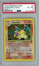 Pokemon Base Set 2 Charizard 4/130 PSA 6