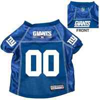 NEW NEW YORK GIANTS PET DOG PREMIUM NFL JERSEY w/NAME TAG ALL SIZES