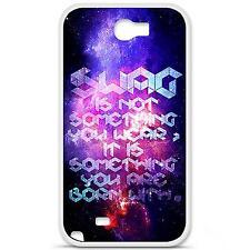 Coque housse étui tpu gel motif cosmic swag Samsung Galaxy Note 2 N7100