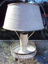ANCIENNE LAMPE BOUILLOTTE EN TÔLE PEINTE 19 ème
