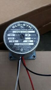 Synchronous Stepping motor-Superior Electric 120V SS25-111OU 1971