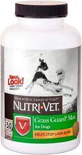 Nutri-Vet Probiotic Dog Supplements Grass Guard Max with Probiotics & Digestive