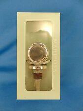 Mariposa Silver Disk Bottle Cork #2813 elegant bar liquor wine stopper NIB New