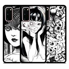 Junji Itou Horror Comic Silicone Phone Case Cover for Samsung Galaxy Huawei