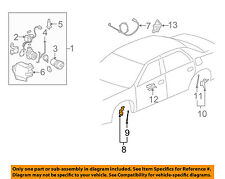 GM OEM Ride Control-Rear Leveling Sensor 25767350