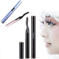 Cool Design Pen Electric Heated Makeup Eye Lashes Long Lasting Eyelash Curler