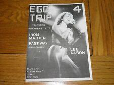 More details for ego trip no 4 - fanzine 1983 lee aaron iron maiden fastway girlschool nwobhm