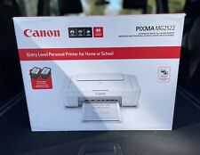 Canon PIXMA MG2522 Wired All-in-One Color Inkjet Printer Scanner Copier WITH INK
