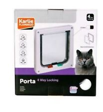 CHATIERE PORTE CHAT 4-WAY BLANCHE REF 507510