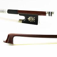 NEW 4/4 Size Pernambuco Violin Bow,Fast response,Good elasticity,Natural Hair
