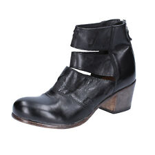 women's shoes MOMA 4 (EU 37) ankle boots black leather BX986-37