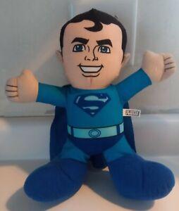 DC Superman Super Friends Blue Plush Doll Toy Factory Super Man