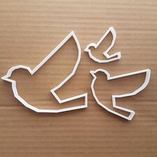 Bird Flying Dove Animal Shape Cookie Cutter Dough Biscuit Pastry Fondant Sharp