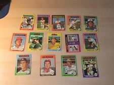 1975 TOPPS MINI 14 CARD LOT BROOKS ROBINSON SPARKY LYLE & MORE LOW TO  MID GRADE