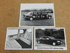 Coleman Milne Grosvenor Limousine 1986/89 UK Market press photos x3