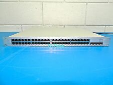 Cisco Meraki MS220-48LP MS220-48LP-HW 48-Port Switch Ready to Register