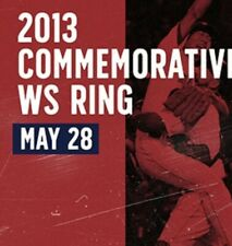 Boston Red Sox 2013 World Series Ring Replica SGA Fenway 05/28/2019