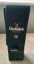 Glenfiddich Scotch Whisky Leather Bottle Case.