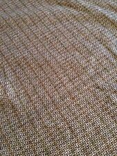 Brand New 60 % Vintage Cheque Wool Suiting Fabric