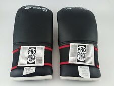 Gladiator by Pro Force Open Hand Black Sparring Gloves for Youth, XL