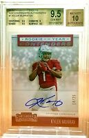 /25 POP 2 BGS 9.5/10 RC Kyler Murray 2019 Contenders ROY #1 ON-CARD AUTO Rookie