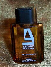 NEW Vtg Azzaro Pour HOMME Mens MINI EDT Paris COLOGNE .24 oz .8 ML FULL!