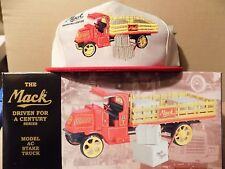 25 Mack Stake Truck with hat  First Gear MINT 1st