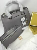 Michael Kors Sutton Satchel Set . Handbag & wallet