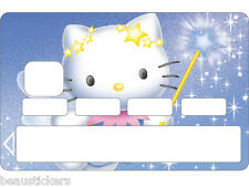 Stickers Autocollant Carte bancaire - Skin - CB Hello Kitty 1125 1125