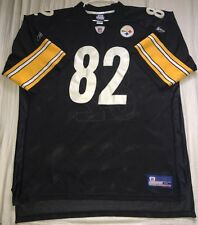 Pittsburgh Steelers NFL Reebok 4XL #82 Stitched Jersey Blank No Name Used
