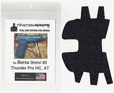 Tractiongrips rubber grip tape for Bersa Thunder Pro 9, 40 HC and XT grips