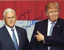 MIKE PENCE DONALD TRUMP #2 REPRINT AUTOGRAPH 8X10 SIGNED PICTURE PHOTO PRESIDENT