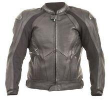 Blousons noires tout cuir pour motocyclette