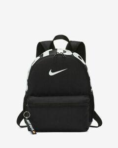 Nike JUST DO IT Kids Junior Mini Backpack Unisex School Bag Rucksack -BLACK