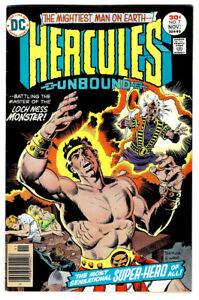 HERCULES UNBOUND #7 in FN/VF condition a 1977 Bronze Age DC comics