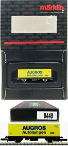 MARKLIN Z SCALE  M/M 0448 AUGROS Container Car in Special Black Box C8