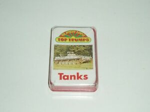 "Vintage Top Trumps Super Mini. ""Tanks"" 1978/9."
