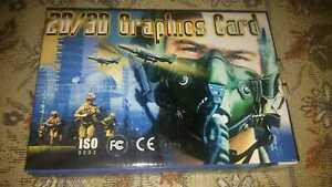 Unbranded S3 Savage IX graphics card NEW SEALED 8MB BOX AGP