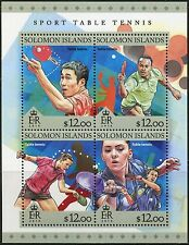 SOLOMON ISLANDS 2016 SPORT TABLE TENNIS SHEET  MINT NH