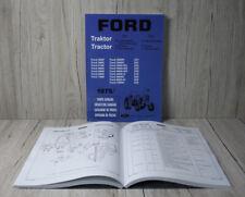 Ford Ersatzteilliste Teil 5 für Traktor 2600  - 7600
