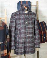Cappotto uomo in Lana Due Soli SHORT COAT SUGAR DS38 Principe di Galles