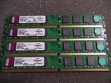 KINGSTON KVR800D2N5/2G PC6400 DDR2 RAM 8GB ( 4x 2GB ) #R4339