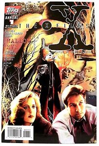 """""""THE X-FILES"""" Annual # 1 (August, 1995) (Topps Comics)"""